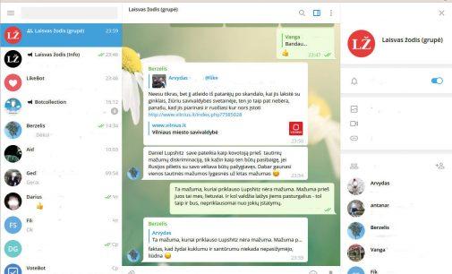 Kas yra Telegram papildinys ir kokios jo galimybė išmaniajame telefone ar namų kompiuteryje