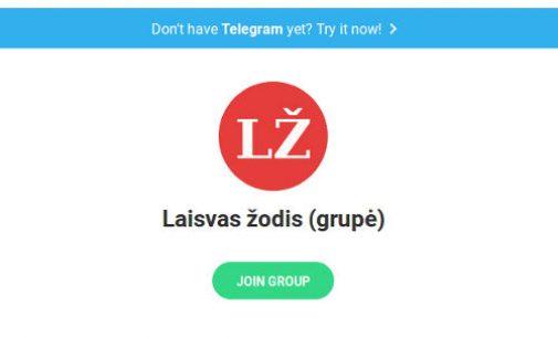 """Rusijos priežiūros įstaiga """"Roskomnadzor"""" paprašė teismo užblokuoti Telegram žinučių papildinį"""
