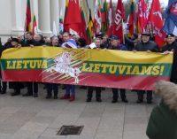 Šiandien 16 val. Kovo 11-osios Patriotinės eitynės Vilniuje