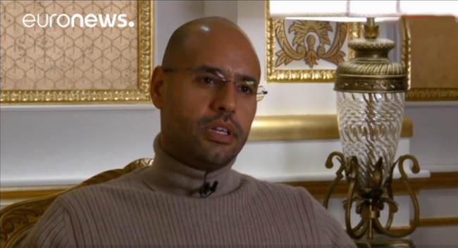 Muamaro Kadafio sūnus - Saif al-Islam Gaddafi