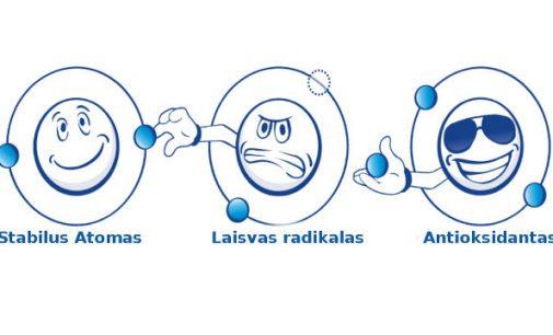 Kas yra laisvieji radikalai organizme ir kokią įtaką daro sveikatai?