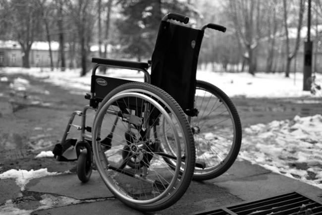 Neįgalaus žmogaus vežimėlis