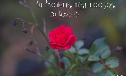 Su pavasario švente, mūsų Mielosios – su jūsų švente!