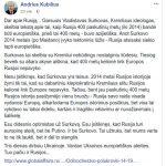 Andrius Kubilius apie Globalffairs.ru