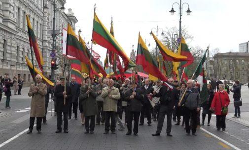 Lietuvos vėliavos šimtmečio eitynės, VU TSPMI studentai ir dėstytojai nerandantys bendros kalbos ir…