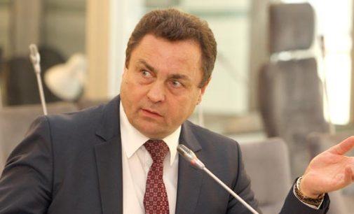 Petras Gražulis įgarsino Seimo narių pageidavimą išgirsti VSD vadovo D. Jauniškio atsakymus Seimo salėje