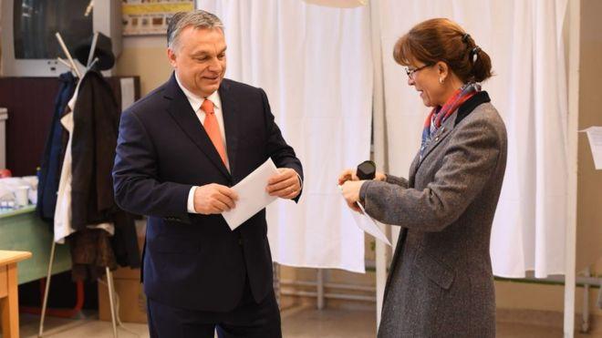 Viktoras Orbanas rinkimuose