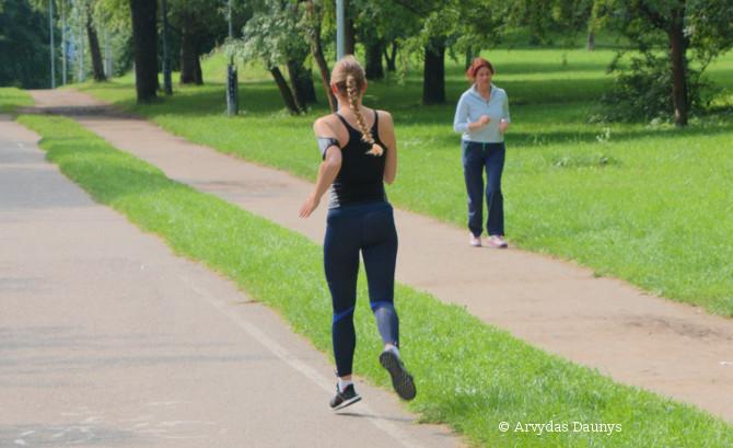 Bėgikės skrydis - sveikata