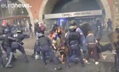 Paryžius: protestai ir areštai