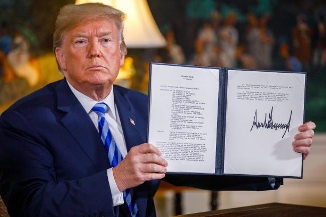 Donaldas Trampas ir sankcijos