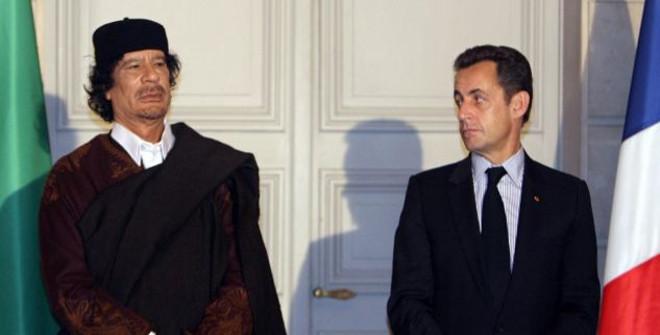 Muammaras Kaddafis Nikolas Sarkozy