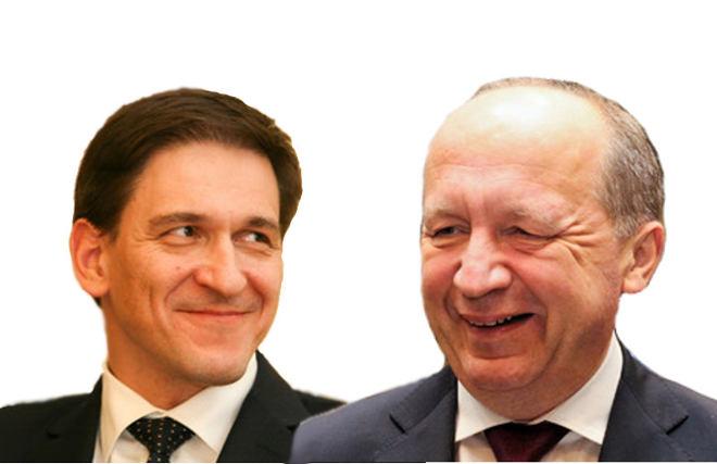Dainius Kreivys ir Andrius Kubilius