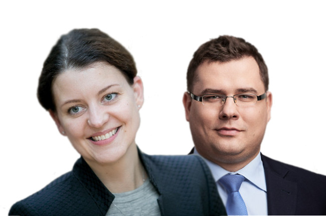 Laurynas kasčiūnas ir Monika Navickienė