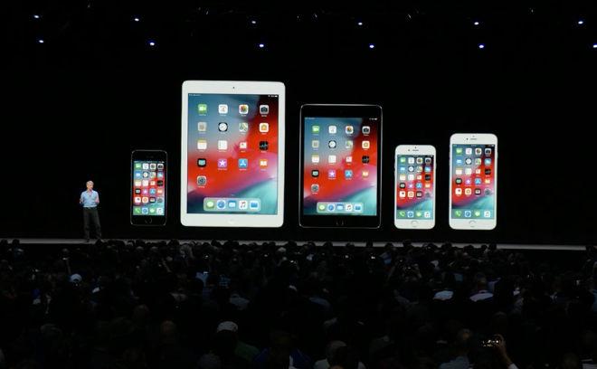 Naujos iOS pristatymas