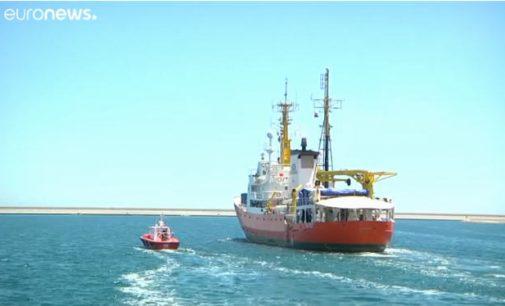 Aquarius laivas vėl skuba į jūrą ieškot eilinių pabėgėlių Europai