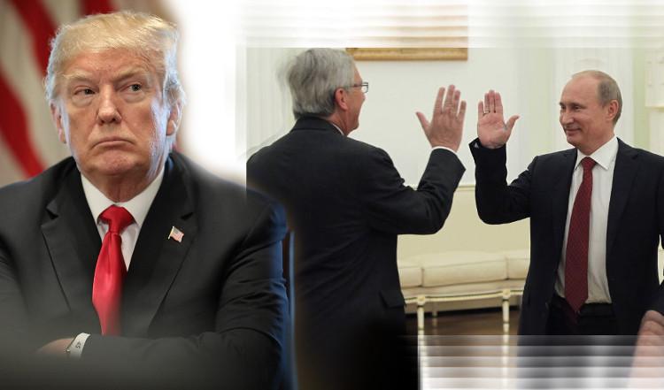 Trampas, Junkeris ir Putinas