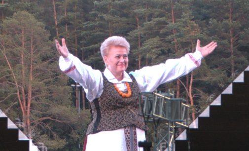 Vyriausybė paskyrė rentą ir patvirtino garantijas kadenciją baigiančiai prezidentei Daliai Grybauskaitei