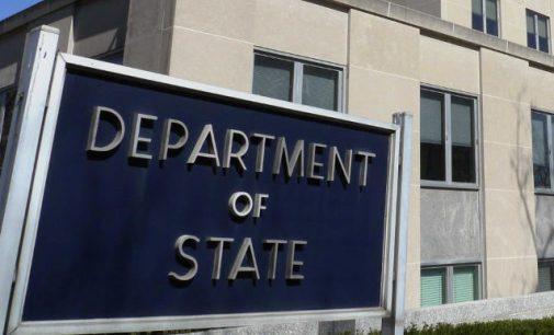 JAV valstybės departamentas paskelbė naujų sankcijų prieš Rusiją detales