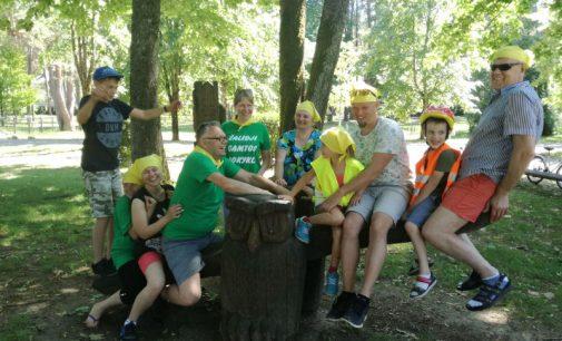 Papildydama švietimo įstaigų  modelių įvairovę Kauno rajone gimė  Žalioji gamtos mokykla