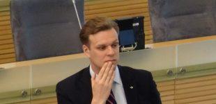 Dabartinis ministrų kabinetas – tai ne stabilumas, o Brežnevo laikų stagnacija, sielvartauja G. Landsbergis