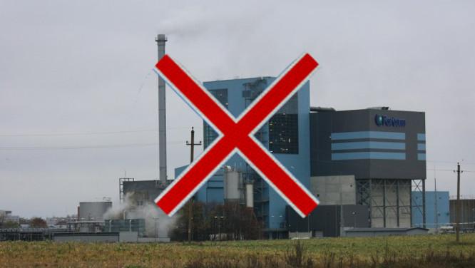 Šiukšlių deginimo gamykloms - NE