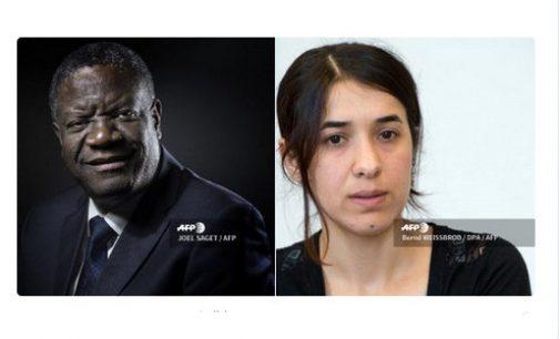 Nobelio taikos premiją gavo ginekologas už pastangas nutraukti seksualinį smurtą