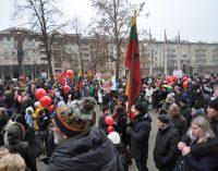 """Lapkričio 25 dienos mitingas Vilniuje – """"Už Šeimą – STOP vaikų atiminėjimui"""" [Video]"""