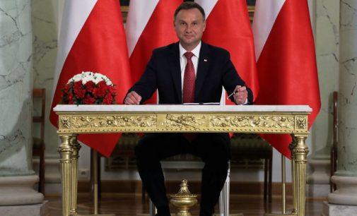 Lenkijos prezidentas Andžejus Duda siunčia žinią – neatmestų galimybės uždrausti homoseksualizmo propagandą