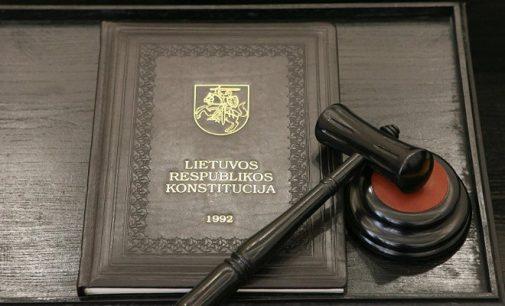 Konstitucinis teismas pasakė NE dviejų dienų referendumui su dviejų savaičių pertrauka tarp balsavimų