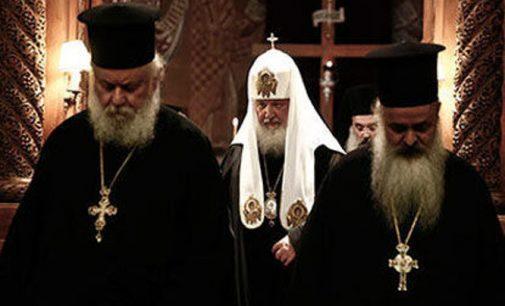 Konstantinopolis pagrasino atšaukti autokefaliją Rusijos pravoslavų bažnyčiai