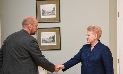 Prezidentė išimties tvarka suteikė Lietuvos pilietybę Jonui Ohmanui