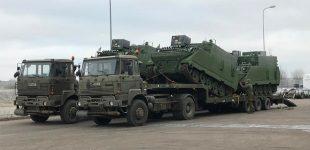 Modernizuoti Lietuvos kariuomenės šarvuočiai M577