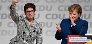 Angela Merkel atsisveikino su savo partija kaip jos vadovė