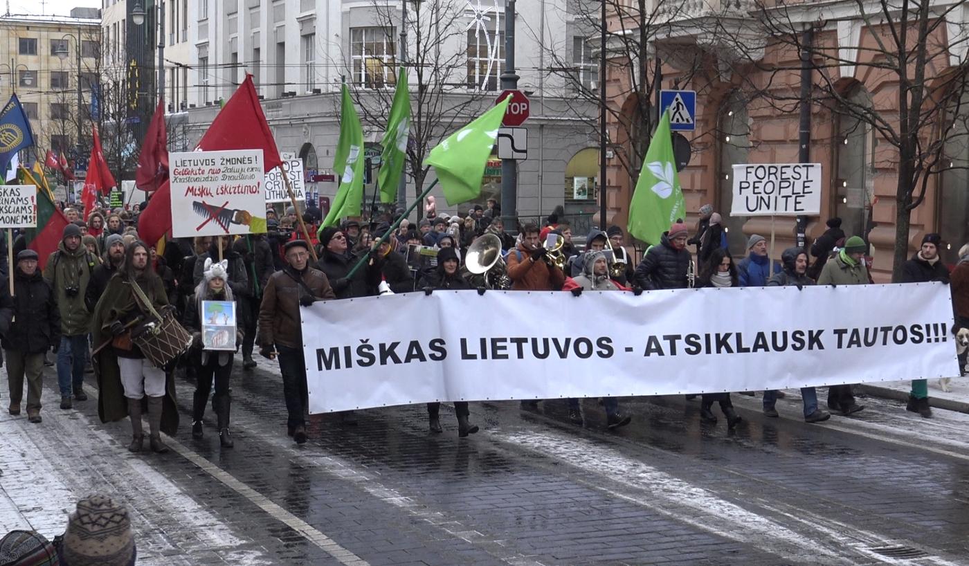 """""""Miškas Lietuvos - atsiklausk Tautos"""""""