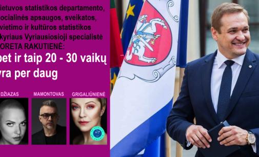 Statistikos departamentas nerado duomenų apie žudomus vaikus, kuriuos jo vardu skelbia Lietuvos influenceriai
