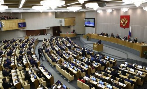 Rusijos Dūma patvirtino bausmes už nepagarbą valdžiai. Ar toli nuėjo Lietuva?