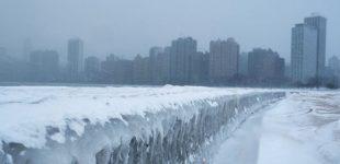 JAV sukaustė arktinis šaltis