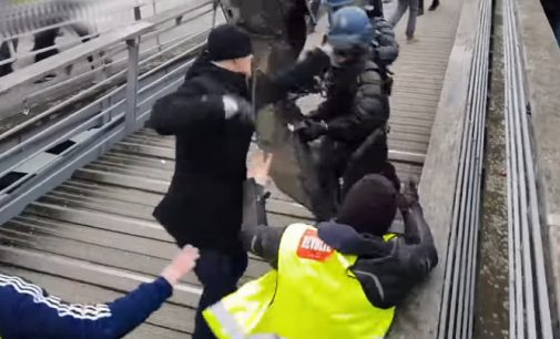 Boksininkas mušė policininkus – prancūzai surinko pinigus baudai sumokėti