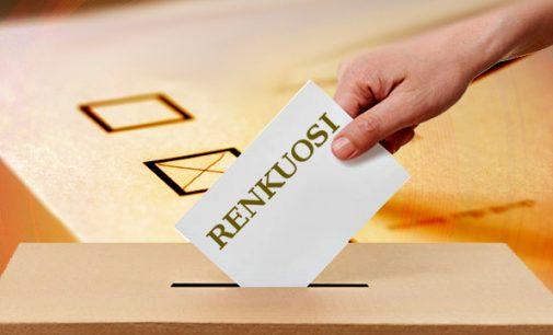 Nuo šeštadienio draudžiama agituoti bet kokių rinkimų tematika