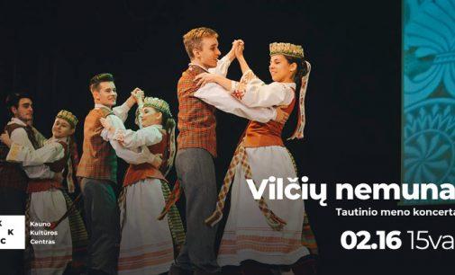 """""""Vilčių nemunai"""" – tautinio meno koncertas, skirtas valstybės atkūrimo dienai. Kaunas"""