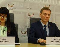 Mindaugas Puidokas paskelbė kandidatuosiąs į Lietuvos Respublikos prezidento postą