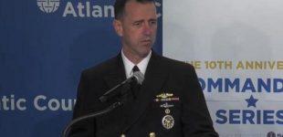 JAV karinių jūrų pajėgų štabo vadas prakalbo apie pirmojo smūgio Rusijai galimybę