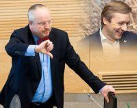 """Seimo politikų vertinimai vieni kitų atžvilgiu smuko iki """"kolūkio lygmens sampratų"""" išsireiškimų"""