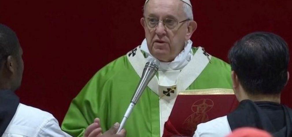 """Popiežius Pranciškus: """"Atėjo laikas apgalvoti besąlyginių bazinių pajamų įvedimą"""""""