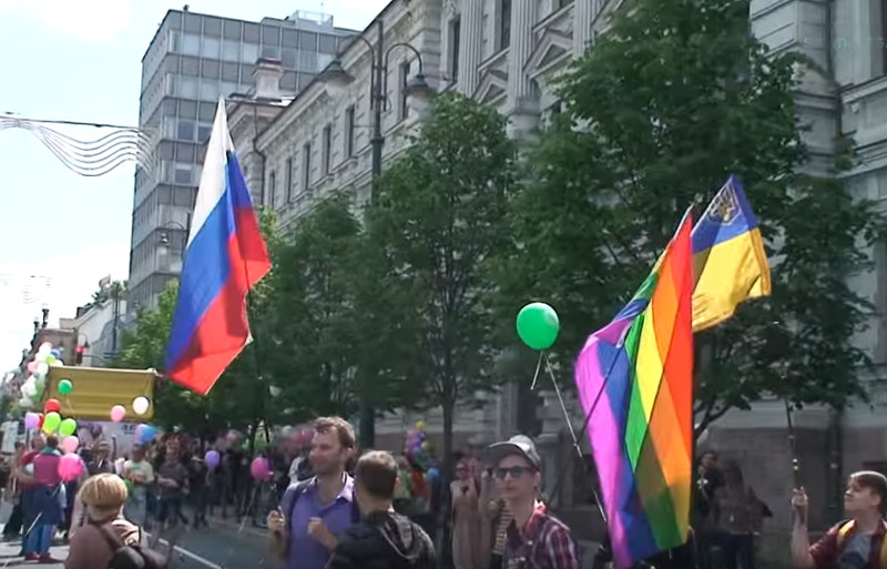 homoparadas Vilniaus Gedimino prospekte, 2016 m.