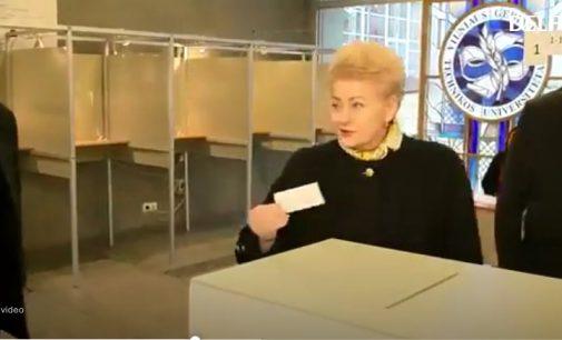 """P. Gražulis: """"galimai neteisėti Dalios Grybauskaitės veiksmai sudaro prielaidas abejoti rinkimų teisėtumu ir legitimumu"""""""