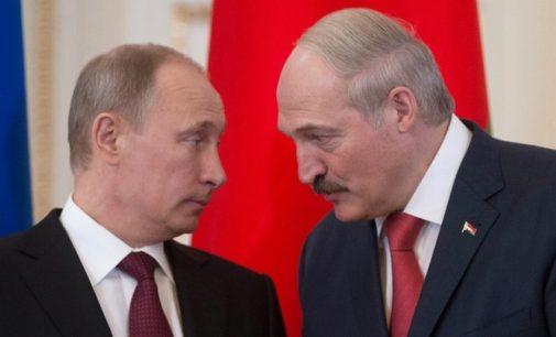 Baltarusijos prezidentas A. Lukašenko ir V. Putinas aptarė bendros valiutos perspektyvas