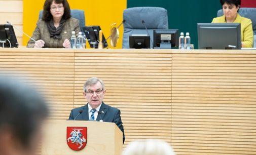 Referendumas dėl dvigubos pilietybės, pasak V. Pranckiečio – šimtmečio idėja Lietuvai
