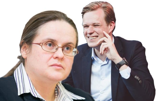 Agnė Širinskienė ir Gabrielius Landsbergis
