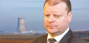 Premjeras S. Skvernelis pasiūlė Baltarusijai alternatyvą vietoje Astravo AE. Baltarusijai turėtų patikti